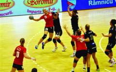 Handbal feminin, Liga Nationala Ghinion cu carul pentru HCM