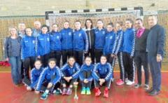 Handbal junioare II: Calificare la turneul semifinal pentru CSS Tulcea