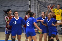Handbalistele de la CSU CSM Oradea au incheiat turul de campionat pe locul X