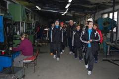 Handbalistele lui Tadici, in vizita la sponsori
