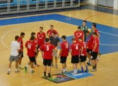 Handbalistii oradeni au remizat in cel de-al doilea joc al turneului amical de la Arena Antonio Alexe