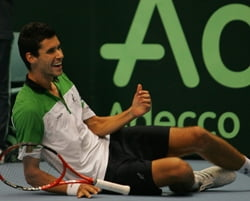 Hanescu l-a depasit pe Ilie Nastase in topul castigurilor din tenis