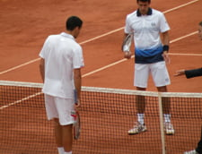 Hanescu nu l-a putut opri pe Djokovici! Romanul a abandonat in setul 3