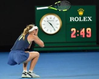 Hanescu o acuza pe Wozniacki ca a apelat la o strategie pentru a intoarce soarta finalei cu Simona Halep