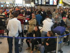 Haos aerian in Marea Britanie - Mii de pasageri afectati