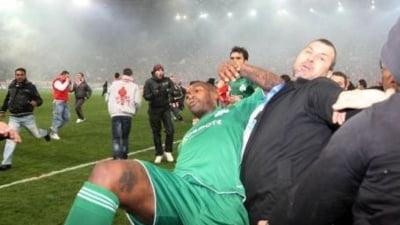 Haos in Grecia: Djibril Cisse, agresat de fanii lui Olympiakos