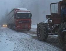 Harghita: Circulatie in conditii de iarna pe drumurile din zonele inalte alte judetului