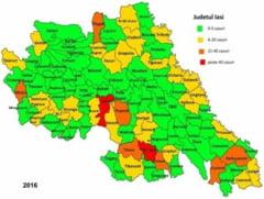 Harta abandonului scolar in Iasi