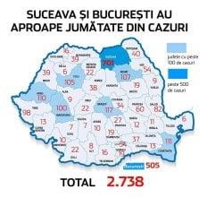 Harta Cazurilor De Covid 19 Din Romania Pe Judete Craiova