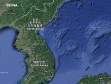 Harta criza Coreea de Nord