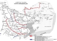 Harta drumurilor judetene care intra in reabilitare