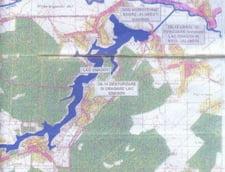Harta lac Snagov