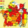 Harta politica a primariilor din judet