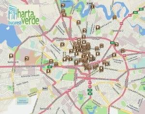 Harta verde a Bucurestiului, un proiect neconventional