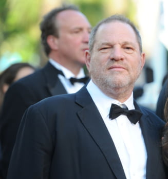 Harvey Weinstein, palmuit si dat afara dintr-un restaurant (Video)