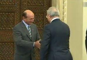 Hasotti a depus juramantul - vezi ce i-a transmis Basescu