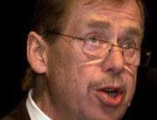 Havel despre Sarkozy: E mai rapid in vorbire decat in gandire