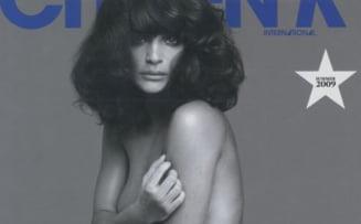 Helena Christensen - pictorial nud la 40 de ani