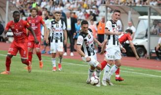 Hermannstadt ramane in Liga 1, chiar daca a pierdut meciul retur cu U Cluj