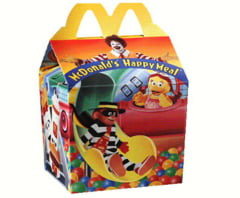 Heroina in meniurile Happy Meal de la Mc Donald's