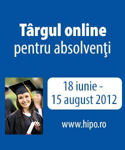 HiPo.ro: 20 de companii de top angajeaza absolventi