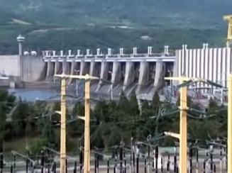 Hidrocentralele de la Portile de Fier functioneaza la limita de avarie din cauza secetei