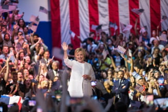 Hillary Clinton a fost desemnata oficial candidatul democratilor la Presedintia SUA (Video)