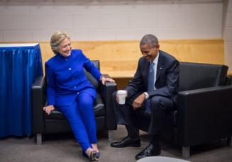 Hillary Clinton e la 10% distanta de Trump in sondaje