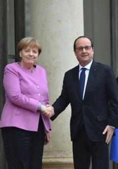 Hollande si Merkel, comemorare la Verdun, locul unde au murit 700.000 de oameni