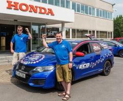 Honda Civic Tourer, record mondial de consum: Doar 2,82 litri la 100 de kilometri!