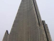 Hotel Ryugyong, Coreea de Nord, 105 etaje, 330 metri