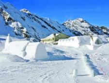 Hotelul de gheata de la Balea Lac, deschis de Craciun (Video)