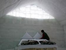 Hotelul de gheata de la Balea Lac se inchide incepand de luni