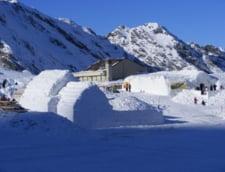 Hotelul de gheata de la Balea Lac se va deschide de Craciun