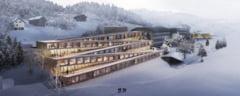 Hotelul pe care poti schia: Nici nu mai e nevoie sa te deplasezi pana la partie (Video)