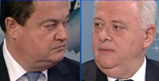 Hrebenciuc: Geoana il bate pe Basescu in turul doi cu un scor de 53%