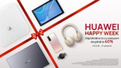 Huawei Happy Week: Dispozitive de ultima generatie la preturi cu pana la 40% mai mici