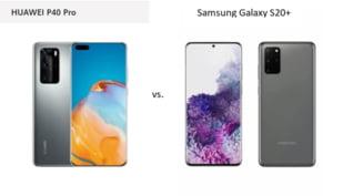 Huawei P40 Pro versus Samsung Galaxy S20+. Care e mai tare?