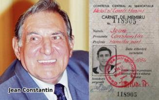 IMAGINE extrem de RARA: Carnetul de MUNCITOR in PORT al marelui JEAN Constantin
