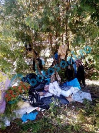 IMAGINI INCREDIBILE intr-un parc din municipiul Botosani! Cetatenii s-au saturat de mizerie si de mirosul insuportabil! FOTO