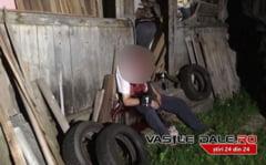 IMAGINI SUMBRE LA BORSA - Un barbat si-a luat viata cu arma de vanatoare