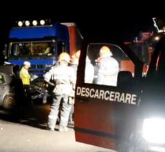 IMPACT MORTAL pe soseaua Orsova-Severin: DOUA PERSOANE DECEDATE si ALTE VICTIME INCARCERATE