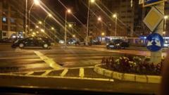 IN INTERSECEsIA TRAIAN-REPUBLICII - Accident cu doua autoturisme implicate aseara in Baia Mare