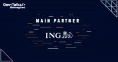 ING Bank Romania - Main Partner in cadrul DevTalks Reimagined, cel mai mare eveniment online dedicat profesionistilor IT&C din Romania