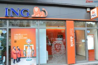 ING Bank isi inchide de astazi toate casieriile fizice