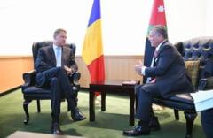INTALNIRE LA NIVEL INALT: Presedintele Klaus Iohannis si Majestatea Sa regele abdullah al II-lea al Iordaniei