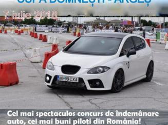 INTERNATIONAL AUTOTEST CHALLENGE 2018 ETAPA a III-a, CUPA DOMNESTI - ARGES