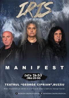 IRIS - Concert Manifest, la Teatrul George Ciprian din Buzau