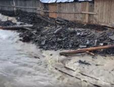 ISU Botosani: Prutul a depasit cu 170 de centimetri cota de inundatii. 40 de gospodarii se afla in zona de risc