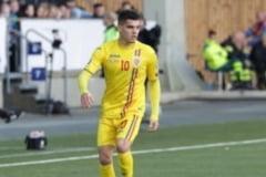 """Ianis Hagi, """"retrogradat"""" la nationala de tineret. Lotul anuntat de selectionerul Adi Mutu pentru """"finala"""" cu Danemarca"""